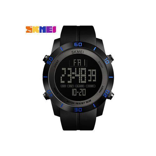 Relógio Masculino Skmei Digital 1353 - Preto e Azul