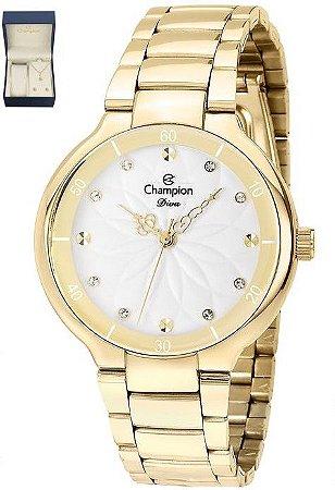Kit Relógio Feminino Champion CN25234W