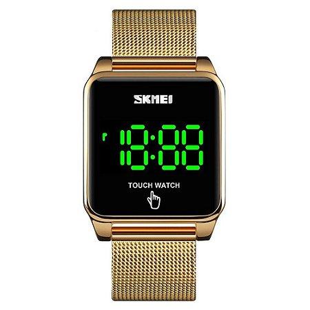 Atacado Relógio Unissex Skmei Digital 1532 - Dourado