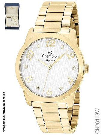 Kit Relógios Champion CN26108W + semijoia.