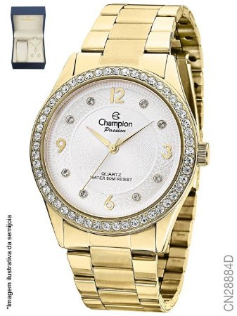 ATACADO kit Relógios Champion Feminino CN28884D + semijoia