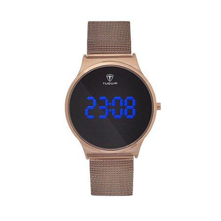 Relógio Feminino Tuguir Digital TG107 – Café