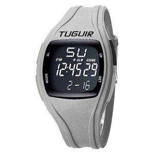 Relógio Unissex Tuguir Digital TG1801 -Branco e preto