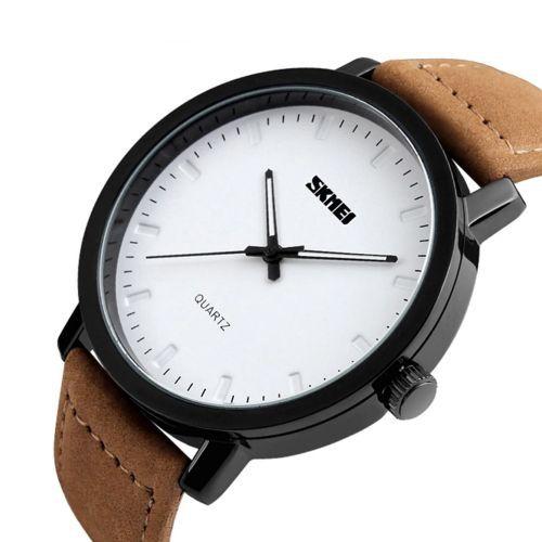 Relógio Masculino Skmei Analogico 1196 Branco