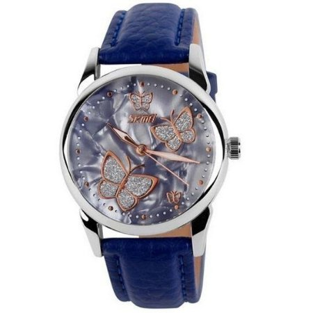 Relógio Masculino Skmei Analogico 9079 Azul