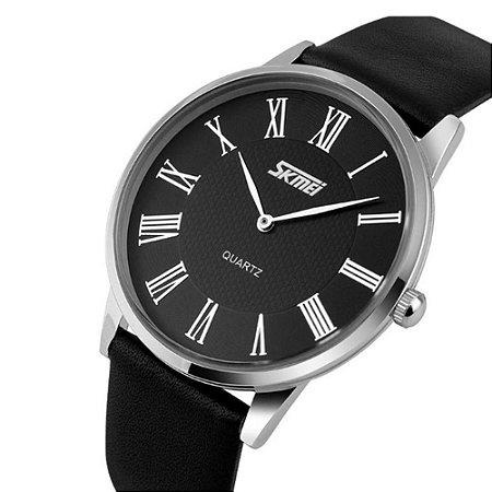 Relógio Masculino Skmei Analogico 9092 Preto