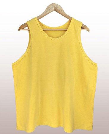 Regata estonada amarela - Sendo mais de 20 peças, usar o cupom (5000) para o valor de atacado de R$ 20,90 por depósito.