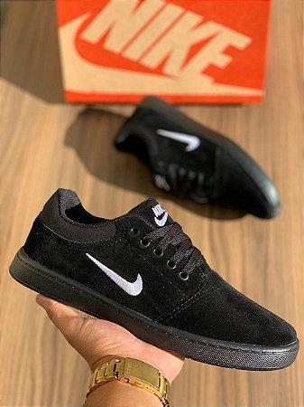 Tênis Sapatênis Masculino Nike SB Casual - Preto
