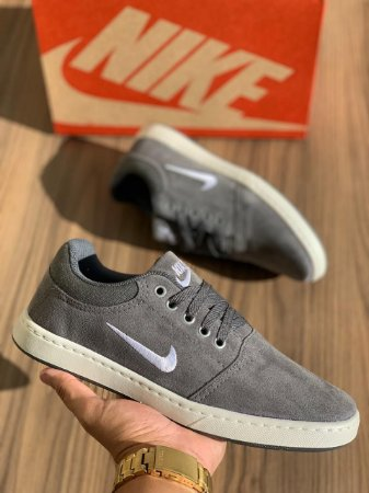 Tênis Sapatênis Masculino Nike SB Casual - Cinza