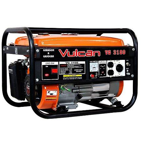 Gerador Elet.3100 Watts A Gasolina (Vulcan)