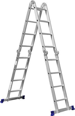 Escada Multifuncional 4 X 4 Degraus (Mor)