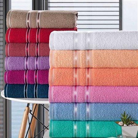 LUFAMAR jogo de toalhas 5 peças Noblesse