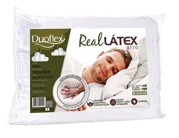 Travesseiro Real Látex 50x70cm - Duoflex