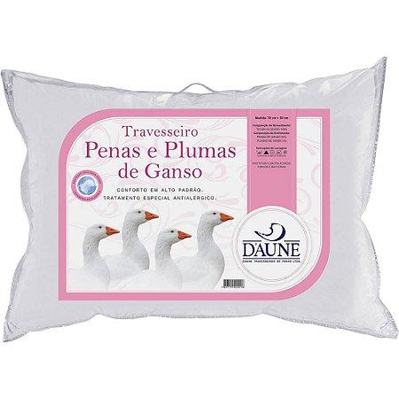 Travesseiro 95% Penas 5% Plumas 50x70cm - Daune