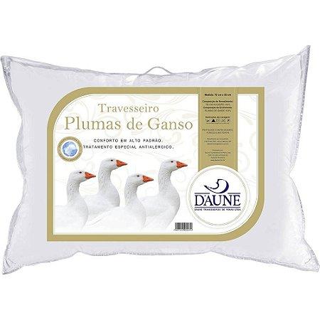 Travesseiro 100% Plumas de Ganso 50x70cm - Daune