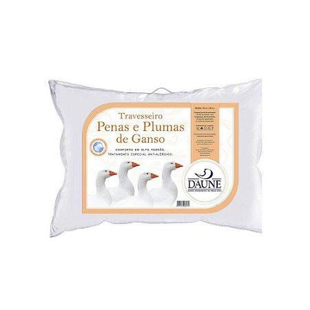 Travesseiro 80% Penas 20% Plumas 50x70cm - Daune
