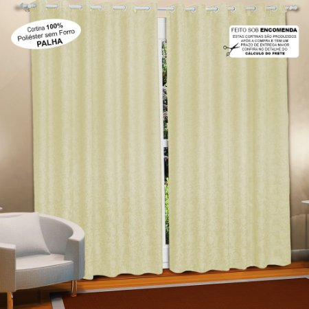 cortina-estampada-iriza-palha-em-2-medidas - Casa da Kite 63604faf03b