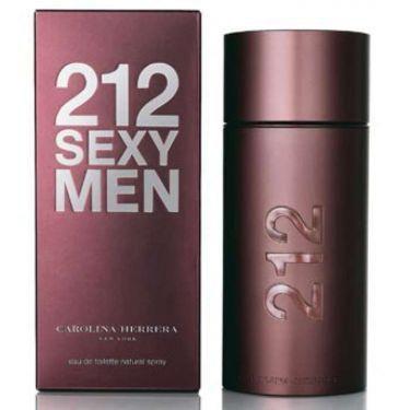 Perfume Carolina Herrera 212 Sexy Eau de Toilette Masculino 100ML