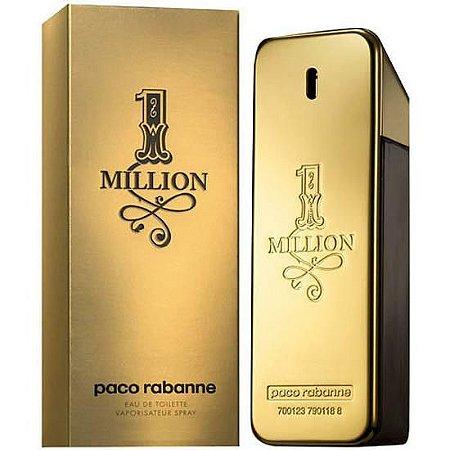 Perfume Paco Rabanne One Million Eau de Toilette Masculino 100ML
