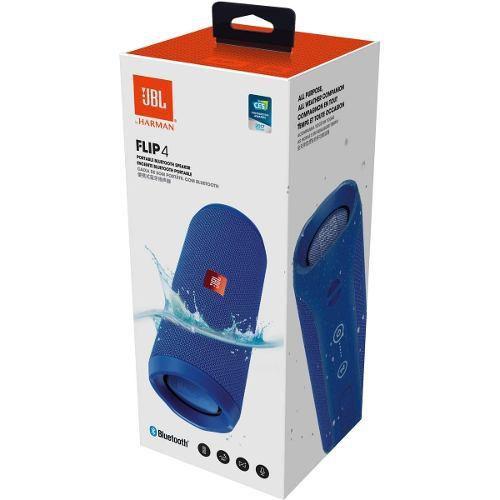 Caixa de Som JBL Flip 4 Bluetooth Portátil