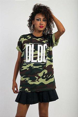 Camiseta DLDC Camuflado Militar