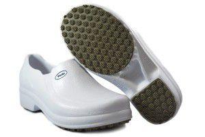 Sapato de Uso Profissional Fechado BB65 Branco