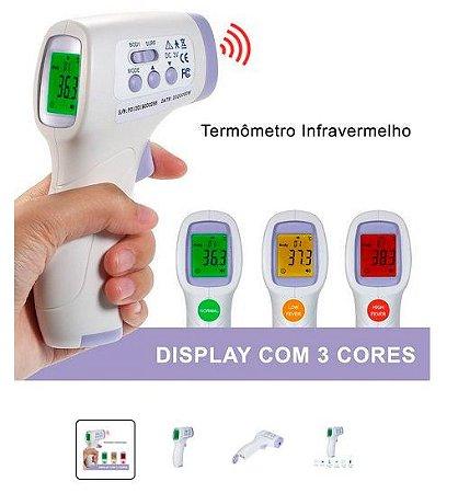 Termômetro Infravermelho sem Contato com a pele Infrared