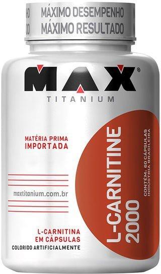 L CARNITINA (60caps) - MAX TITANIUM
