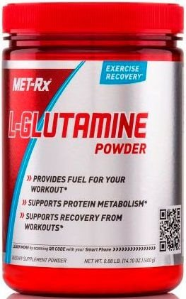 GLUTAMINA POWDER (400g) - MET RX