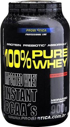 WHEY 100% PURE (900g) - PROBIÓTICA