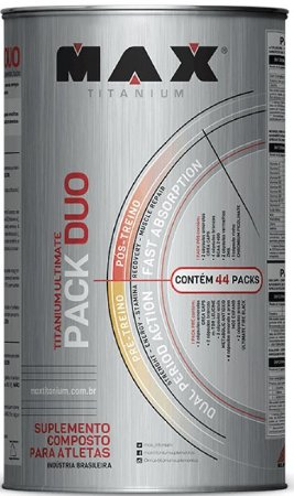 ULTIMATE PACK DUO (44packs) - MAX TITANIUM