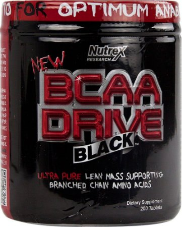 BCAA DRIVE BLACK (200tabs) - NUTREX