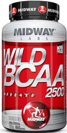 WILD BCAA 2500 (100tabs) - MIDWAY