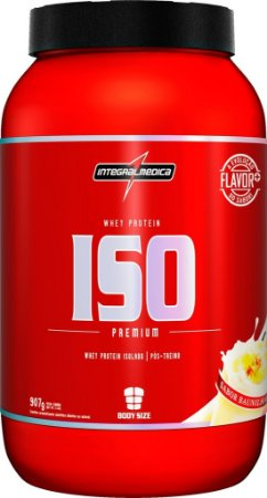 ISO WHEY ZERO CARB (909g) - INTEGRAL MÉDICA