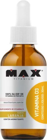 VITAMINA D3 (30ml) - MAX TITANIUM