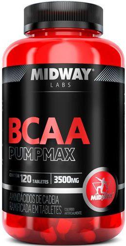 BCAA PUMP MAX (120tabs) - MIDWAY