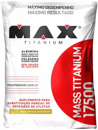 MASS 17500 HIPERCALÓRICO (1,4kg) - MAX TITANIUM