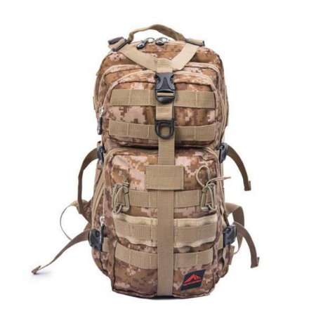 Mochila tática Crampon Army 25L - Trilhas e Rumos