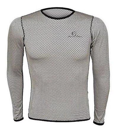 Camisa Segunda Pele Carbon - Feminino - Mauro Ribeiro