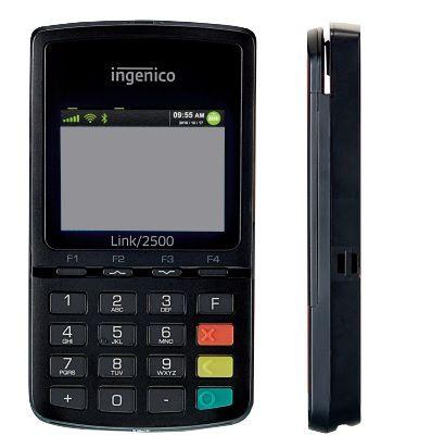 mPOS Link 2500 - GPRS, Bluetooth, Wi-Fi e 3G - INGENICO