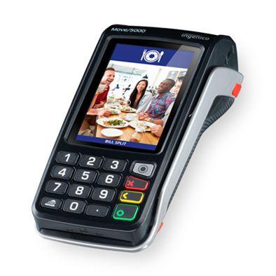 POS Móvel Move/5000 - GPRS, 3G, Bluetooth e Wi-Fi - INGENICO