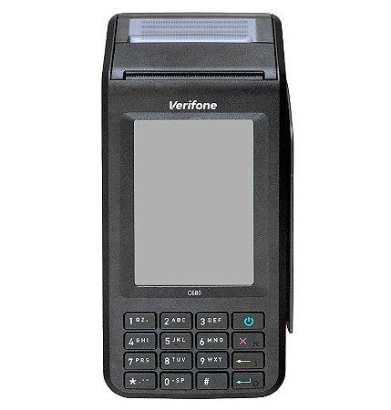 POS Móvel C680 - GPRS, 3G, Bluetooth e Wi-Fi - VERIFONE