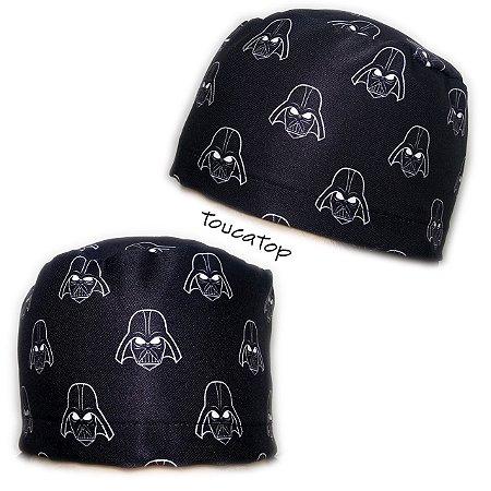 Gorro Star Wars - Preto - Darth Vader - Máscaras pequenas com traço branco 1025ad3b1bb