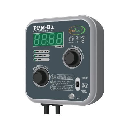 PPM B1 PRO LEAF - Controlador de CO2 Automático