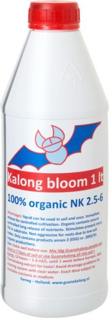 Fertilizante Kalong Bloom 1 Litro - LACRADO