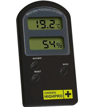 Termohigrômetro Garden HighPro
