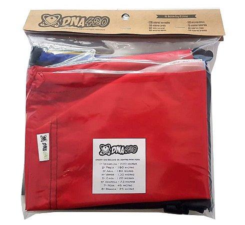 Kit Bubble Bag 5 Litros - 8 Bags