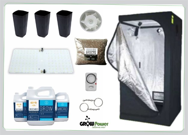 KIT LED EASY TO GROW 60x60x160 - Samsung 65w BIVOLT.