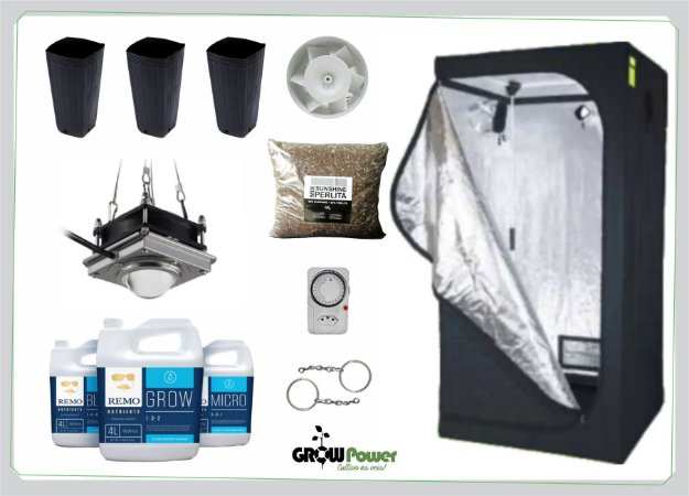 KIT LED EASY TO GROW 60x60x160 - 300w 110v