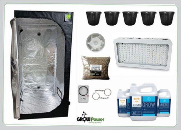 KIT LED EASY TO GROW 120x120x200 – 1500w Bivolt